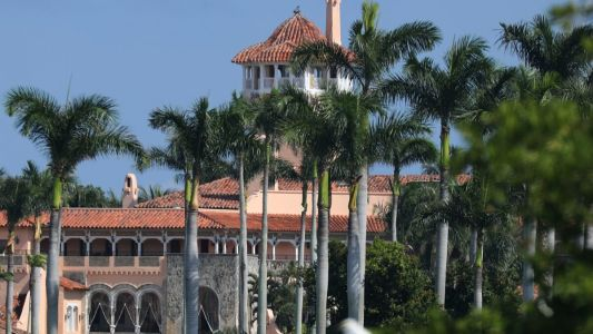 Reporter Scores First Post-Presidency Comment From Trump, Then Gets Escorted Away From Mar-a-Lago Lunch Table