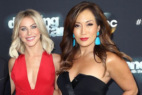 Julianne Hough supported by 'DWTS' judge Carrie Ann Inaba after Brooks Laich split
