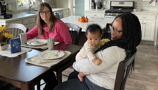 On Your Corner: Volunteer coordinator shares home with homeless mom