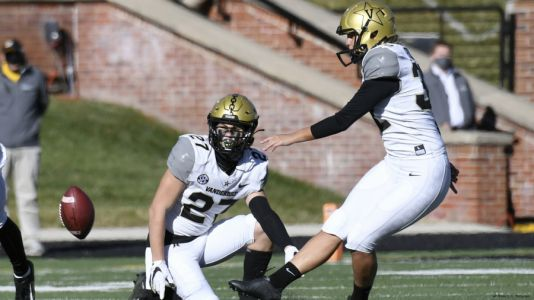 Vanderbilt K Fuller becomes first woman to play in Power 5