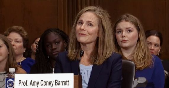 REPORT: Amy Coney Barrett Frontrunner as Trump Pick To Fill Ruth Bader Ginsburg's Seat