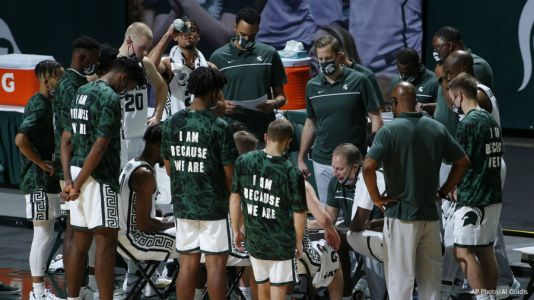 No. 13 Michigan State opens with 83-67 win over E. Michigan