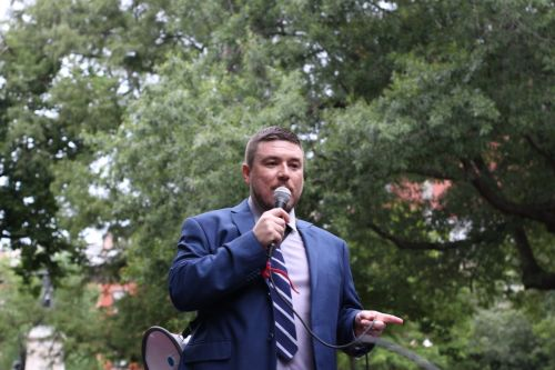 Unite the Right Rally Organizer Confronted About 'Celebrating Heather Heyer's Murder'
