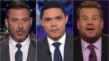 Late Night Hosts Find The Funny In Latest Donald Trump Impeachment Inquiry Twist