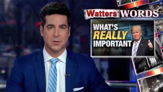 Trump Shares Segment from Fox's Jesse Watters Saying People Should 'Tune Out' the 'Noise' Over 'Fake Scandals'