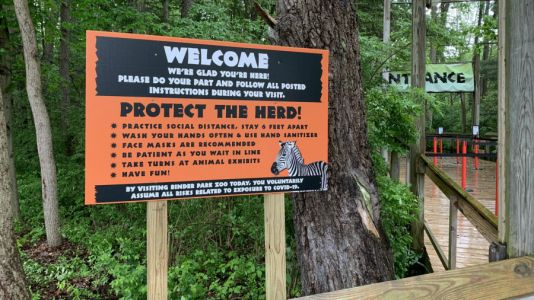 Binder Park Zoo opens with new safety procedures
