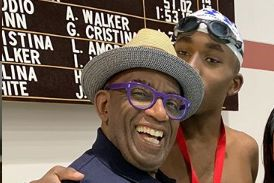 Al Roker and Deborah Roberts' son wins big at NY Special Olympics