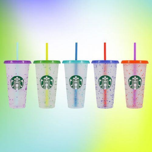 Starbucks's New Color-Changing Confetti Cups Are Here to Bring the Fun