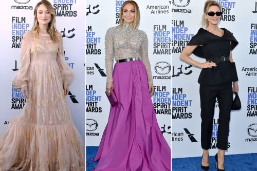Stars step out for the 2020 Independent Spirit Awards