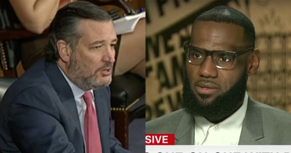 LeBron James Fires Back After Ted Cruz Mocks Use of Michael Vick to Promote Voting