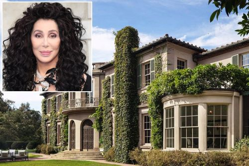 Hollywood mansion, once home to Cher, sells for $88m at a loss