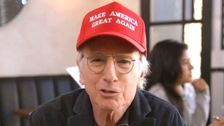 Larry David Finds An 'Amazing' Use For A MAGA Hat In 'Curb Your Enthusiasm' Premiere