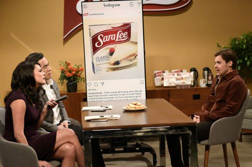 Sara Lee reacts to Harry Styles' raunchy 'SNL' sk