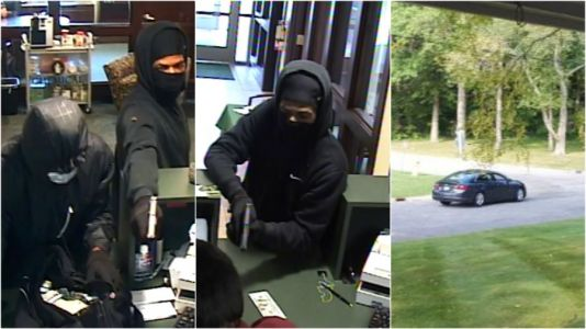 Man charged in Oshtemo Township bank robbery