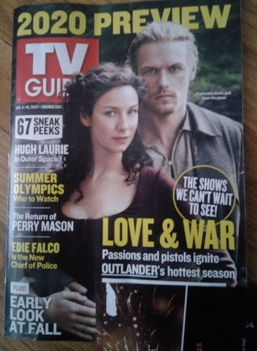 Jamie and Claire Grace the Newest Cover of 'TV Guide'