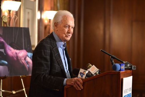 Car smashes into wall outside Bob Barker's Hollywood Hills home