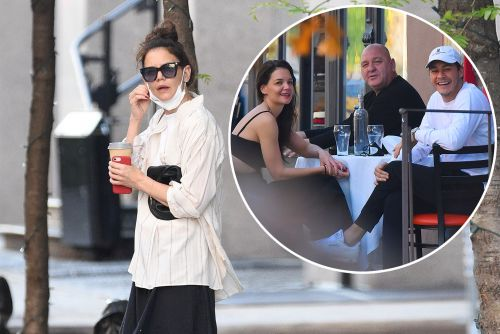 Katie Holmes spotted looking sad after Emilio Vitolo Jr. split