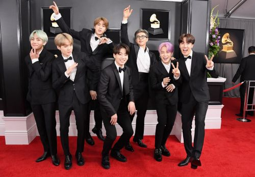 BTS Make History as the First K-Pop Group to Be Nominated For a Grammy