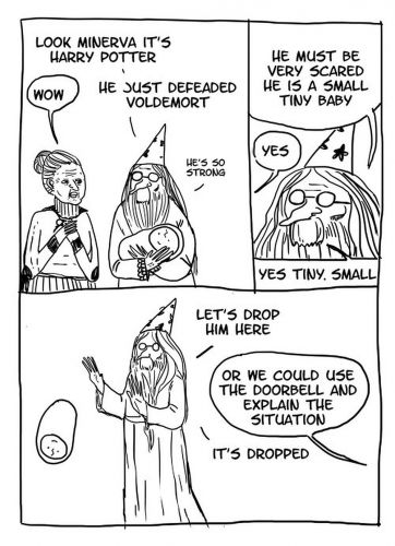 10 Harry Potter & Albus Dumbledore Memes That Are Too Hilarious For Words
