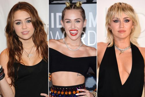 Miley Cyrus' hair evolution, from mini buns to mullets