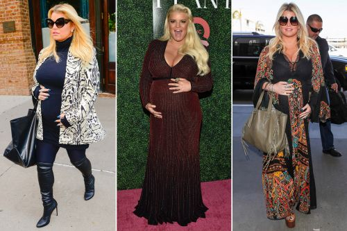 Jessica Simpson's best style moments from her third pregnancy