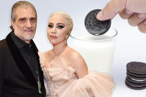 Lady Gaga gave her dad a box of Oreos for Father's Day