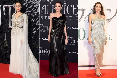 Angelina Jolie's marvelous 'Maleficent: Mistress of Evil' press tour looks