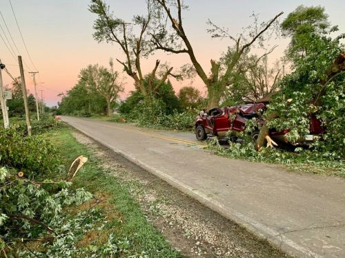 Marshalltown Struck With Another Storm Leaving Behind Severe Damage