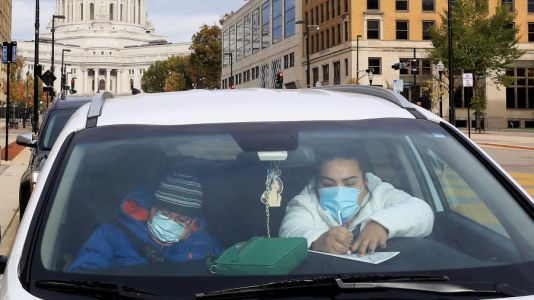 Worst place, worst time: Trump faces virus spike in Midwest