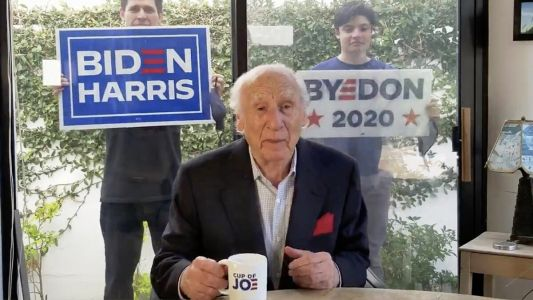 Comedy Legend Mel Brooks Makes His First EVER Political Video to Endorse Joe Biden