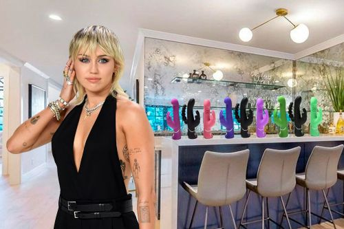 Miley Cyrus decorates her home with sex toys