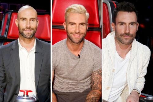 Adam Levine's many hairstyles on 'The Voice'
