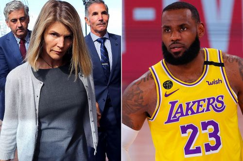 LeBron James can't believe Lori Loughlin gets to pick her prison