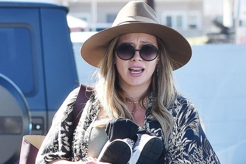 Why is Hilary Duff constantly photographed by paparazzi?