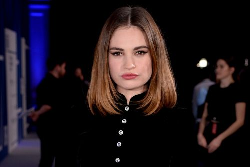 Lily James appears on 'The Tonight Show,' doesn't talk Dominic West drama