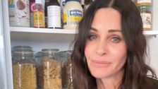 Courteney Cox Shows She's Without Doubt 'A Monica' In Viral Kitchen Video