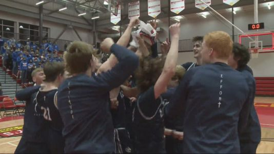 Des Moines Christian, Montezuma Off To State