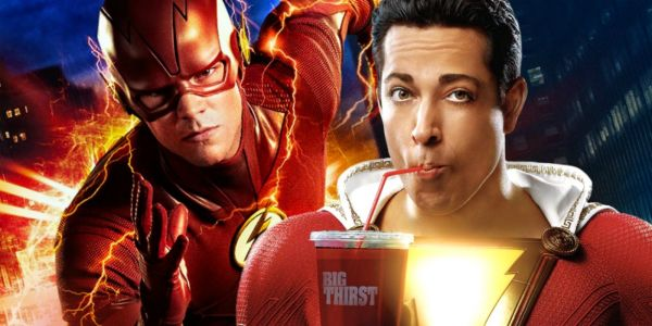 The Flash Hints SHAZAM Exists In The Arrowverse | Screen Rant