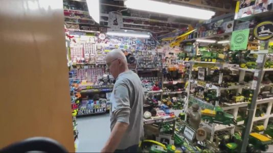 John Deere retiree shows love for the brand with at-home toy museum