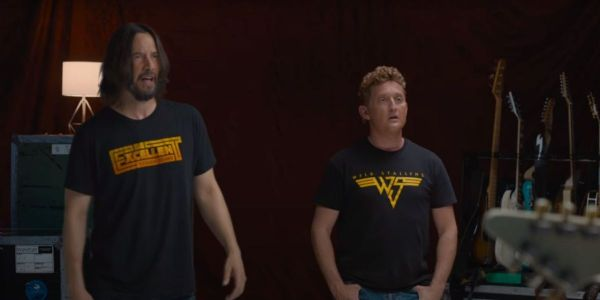 Watch Weezer Audition For Keanu Reeves and Alex Winter In New Bill And Ted Face The Music Video