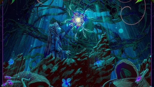 Behold the Sanctuary Tree In New Dark Crystal: Age of Resistance Poster