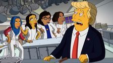 Trump Battles 'The Squad' In New 'Simpsons' Short