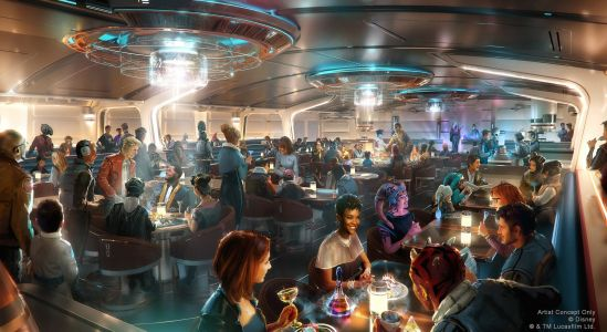 "Disney's Star Wars Hotel Will Have a ""Supper Club in Space,"" and We Can't Wait to Make Reservations"