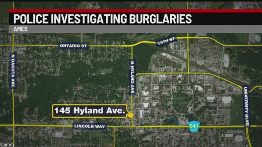 Police Seeking Ames Burglary Suspect Who Watched Female Victims While They Slept