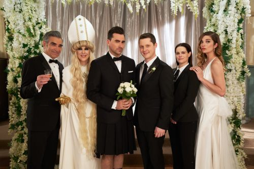 We Want to Be at the Schitt's Creek Emmys Party - Don't Worry, They're Being Safe!