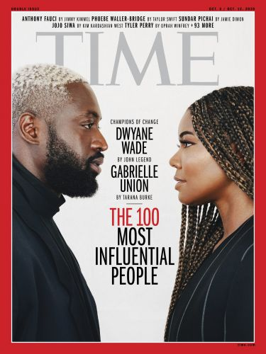 """Gabrielle Union and Dwyane Wade on Making the Time 100 List: """"We're Inspired by Our Kids"""""""