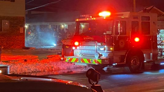 No injuries reported in Wyoming apartment fire