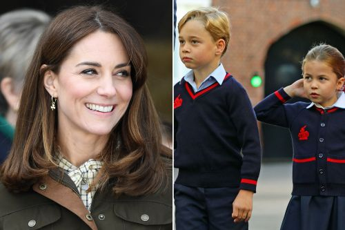 Kate Middleton is cutting her children's hair at home in quarantine