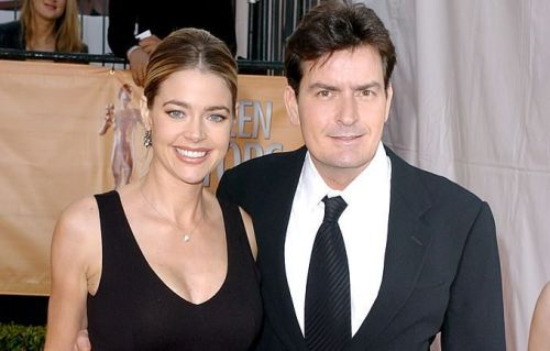 Charlie Sheen Reacts To Denise Richards Leaving Real Housewives Of Beverly Hills