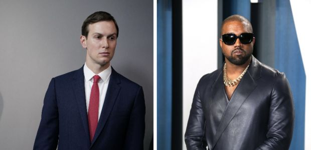 Kanye West Met With Jared Kushner Last Week as He Continues 'Walking' for President Despite Electoral Impossibility